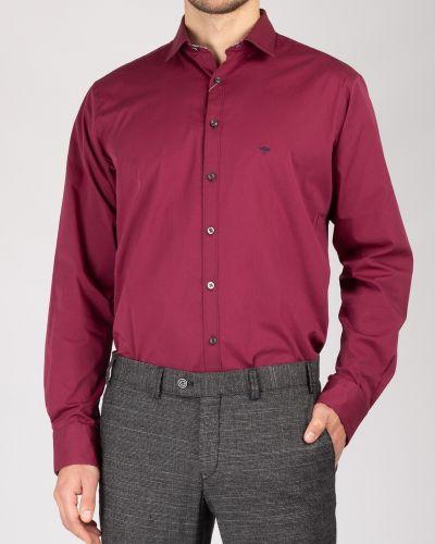 Рубашка с длинным рукавом - бордовая Fynch-hatton