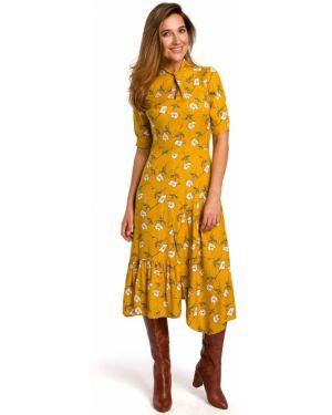 Sukienka midi ciepły letnia Style