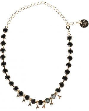 Черное ожерелье Patrizia Pepe