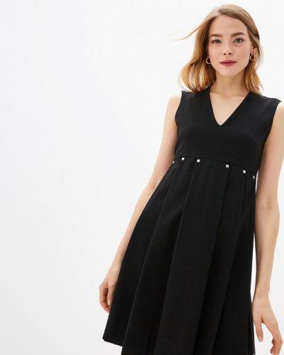 Джинсовое платье повседневное осеннее Trussardi Jeans