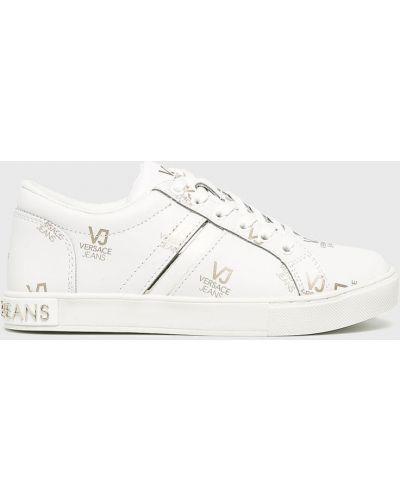 Джинсы mom белые Versace Jeans