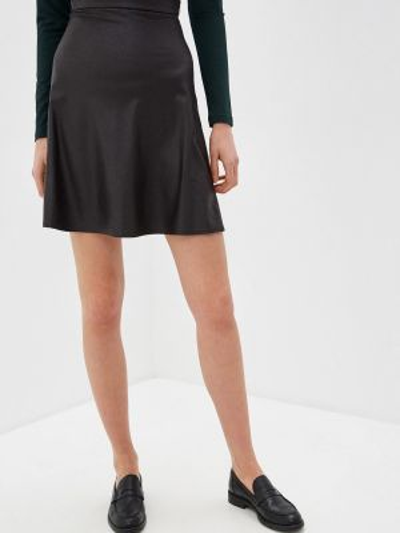 Черная юбка Knitman