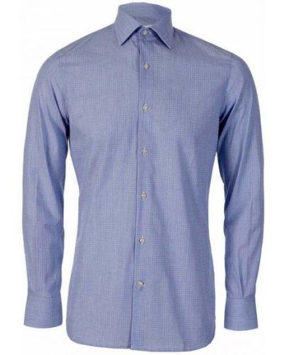 Koszula w kratę - niebieska J.lindeberg