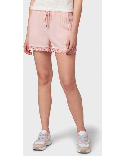 Джинсовые шорты розовый Tom Tailor Denim