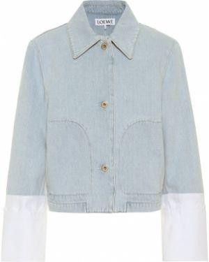 Джинсовая куртка синий куртка-жакет Loewe