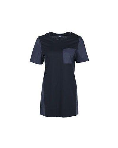 Синяя хлопковая футболка Armani Jeans