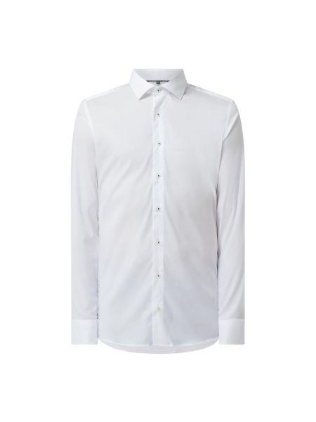 Biała koszula z długimi rękawami Eterna