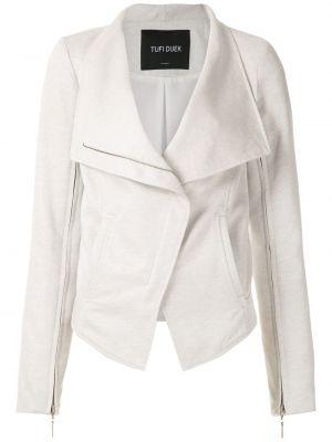 Длинная куртка - белая Tufi Duek