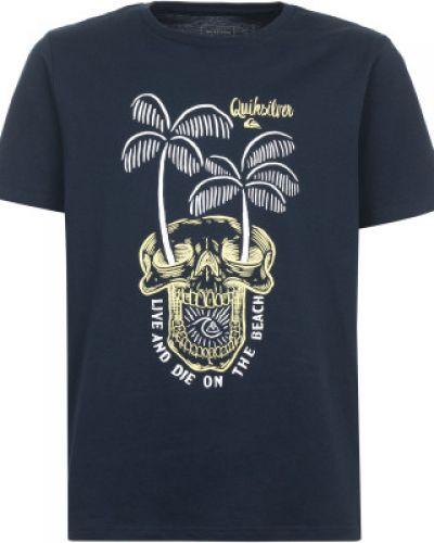 Спортивная футболка прямая хлопковая Quiksilver