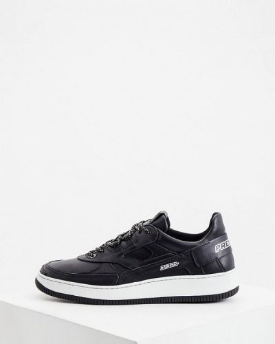Кожаные черные кроссовки Premiata