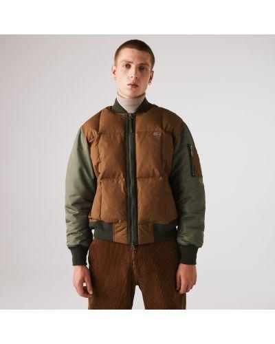 Хлопковая куртка Lacoste