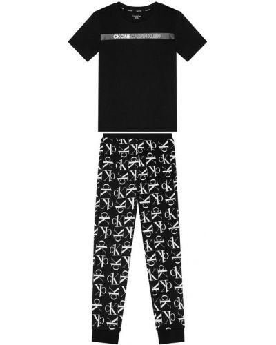 Piżama - czarna Calvin Klein