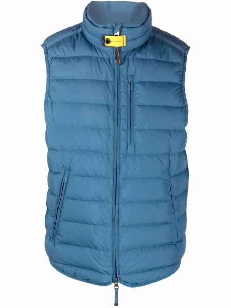 Синяя жилетка с карманами Parajumpers