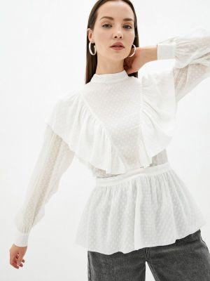 Белая зимняя блузка Self Made