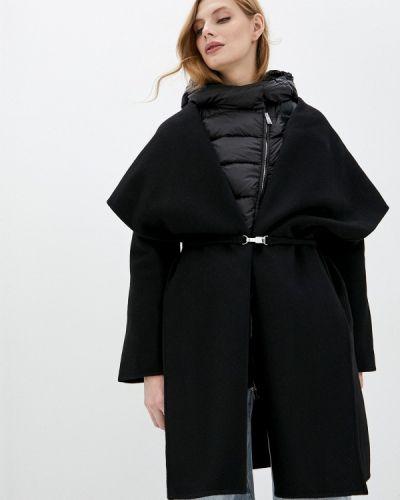 Черное зимнее пальто Add
