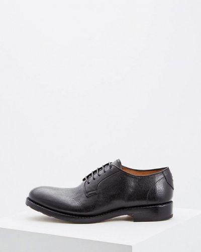 Черные туфли итальянские Barracuda