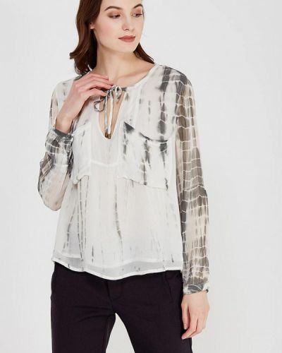 Белая блузка с длинными рукавами Sack's