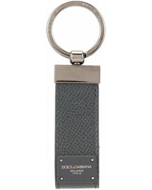 Брелок металлический серый Dolce & Gabbana