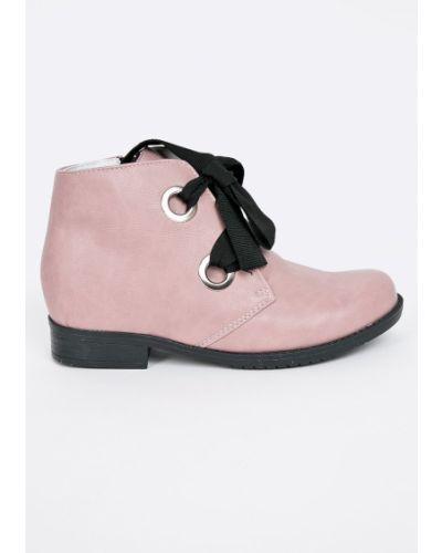 Розовые ботинки Kornecki