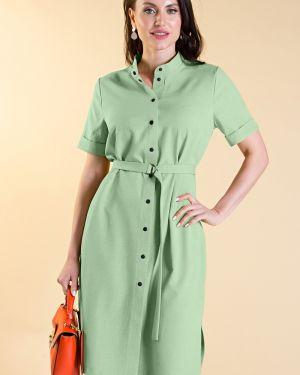 Платье с поясом платье-рубашка платье-сарафан Lady Taiga