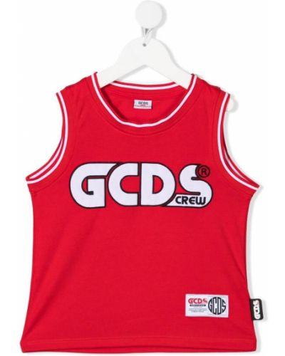 Sport kamizelka bez rękawów z haftem Gcds Kids