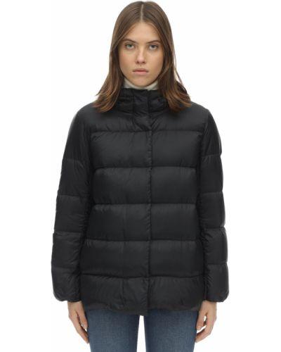 Пуховая черная куртка с капюшоном 's Max Mara