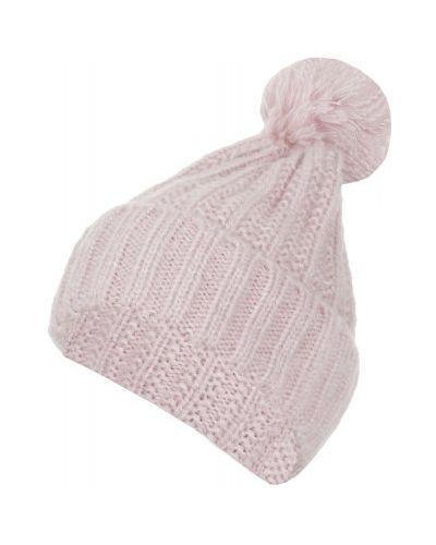 Вязаная шапка с помпоном с отворотом Icepeak