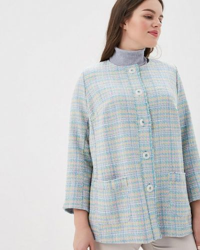 Голубой пиджак Silver String
