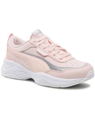 Różowe sneakersy Puma