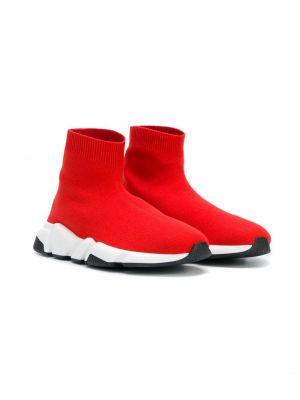 Носки красные Balenciaga Kids