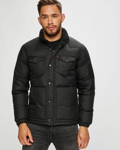 Утепленная куртка укороченная с нашивками Levi's®