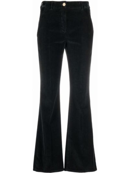Классические брюки с завышенной талией - черные Incotex