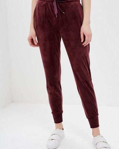 Спортивные брюки бордовый красный Iwie