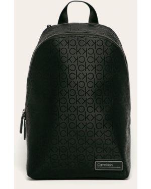 Plecak na laptopa z wzorem czarny Calvin Klein