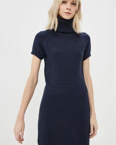 Платье весеннее синее Alcott