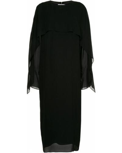 Платье миди из вискозы Jil Sander
