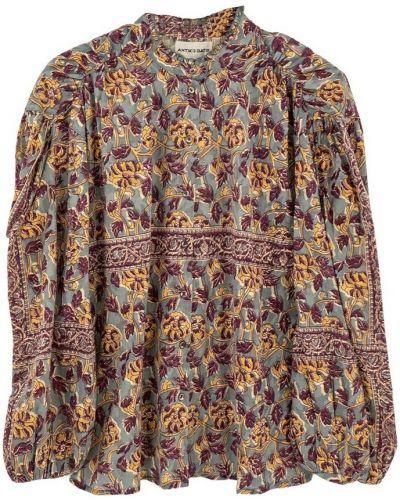 Niebieska bluzka Antik Batik