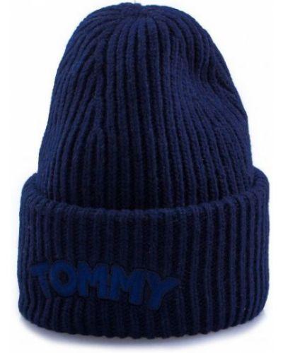 Шапка casual - синяя Tommy Hilfiger