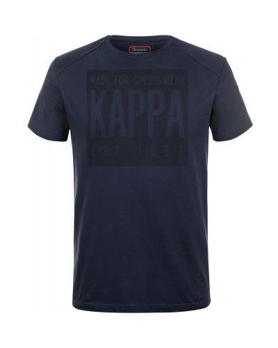Спортивная футболка хлопковая прямая Kappa
