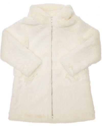 Белое пальто на подкладке Bomboogie