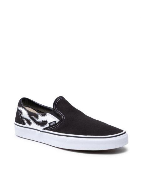 Czarne slipy Vans