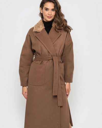 Пальто - коричневое Sfn
