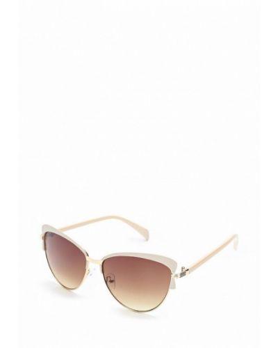 Бежевые солнцезащитные очки Noryalli