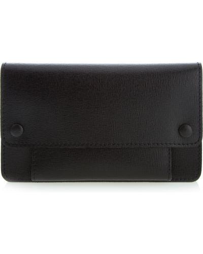 Кожаный портмоне - черный Vif