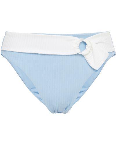 Нейлоновые синие бикини стрейч Onia