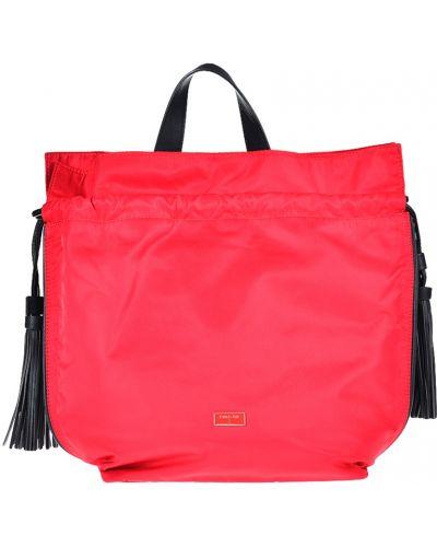 Красный рюкзак с отделениями Patrizia Pepe