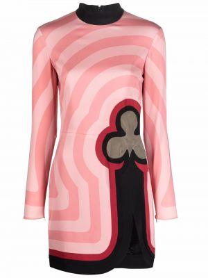 Платье макси длинное - розовое Casablanca