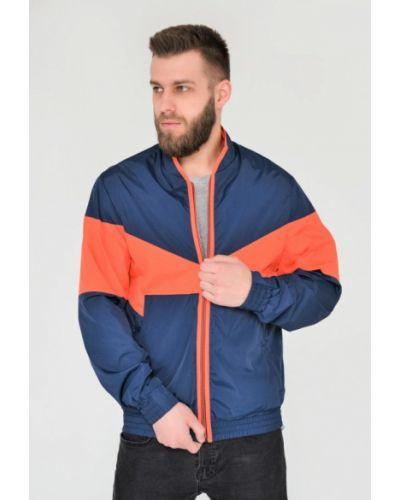 Куртка легкая синяя Riccardo