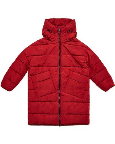 Куртка из полиэстера - черная Geox