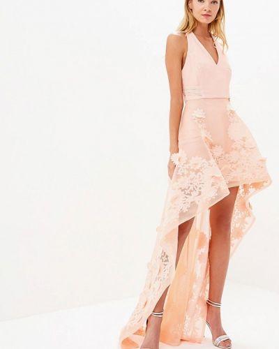 Вечернее платье коралловый красный X'zotic